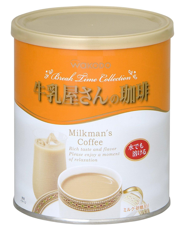 <br/><br/> 日本暢銷排行榜飲品 和光堂WAKODO沖泡式牛乳屋咖啡420g【JE精品美妝】<br/><br/>