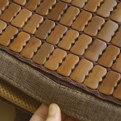 【深色邊3D透氣包邊炭化專利】布繩織帶款 / 透氣底部設計-麻將蓆-單人 / 雙人 / 加大 / 特大尺寸- 絲薇諾 2