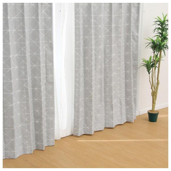 隔熱隔音窗簾 CROSS GY 100×140×1 NITORI宜得利家居 1