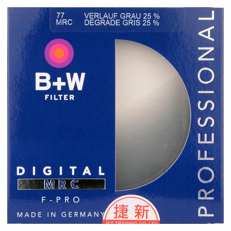 ◎相機專家◎ B+W F-Pro 58mm 702 Graduated ND 25% MRC 漸層減光鏡 捷新公司貨