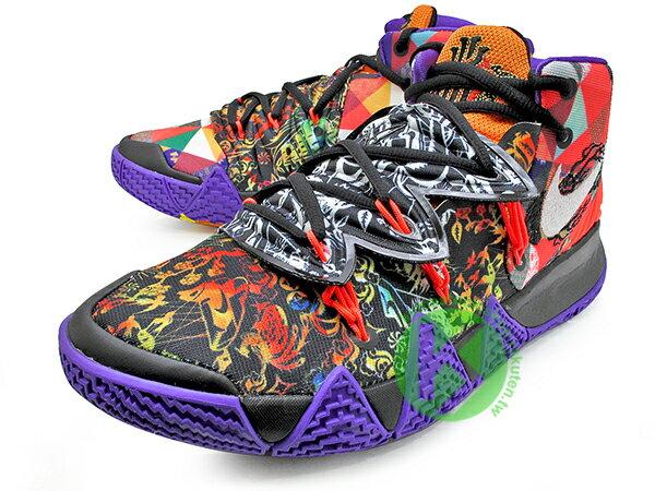 2021 Kyrie Irving 最新代言鞋款 NIKE KYBRID S2 CNY EP KYRIE 4 5 6 HYBRID  百家衣 牡丹花 鴛鴦 中國年 合體鞋 合體鞋 後掌 ZOOM AI