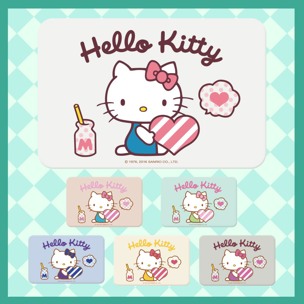 【三麗鷗獨家授權】Hello Kitty珪藻土吸水地墊 彩繪全店宅配免運