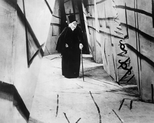 The Cabinet Of DrCaligari Nwerner Krauss In The Title Role Of The 1919 Motion Picture The Cabinet Of Dr Caligari Rolled Canvas Art - (18 x 24) d9a2a90953d4f83c20adf30de791ee50