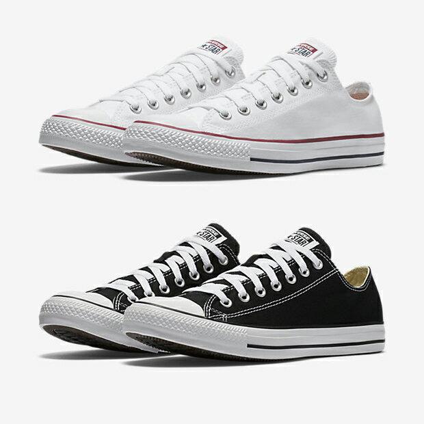 《限時特價↘7折免運》CONVERSE All Star Chuck Taylor 基本款 男鞋 女鞋 休閒 帆布鞋 低筒 白 / 黑 【運動世界】 M7652 / M9166