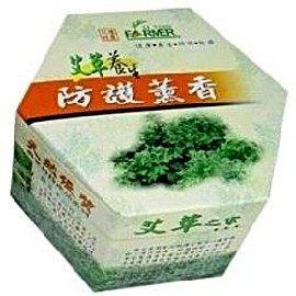鏡感樂活市集:艾草養生防護薰香32卷環保盒