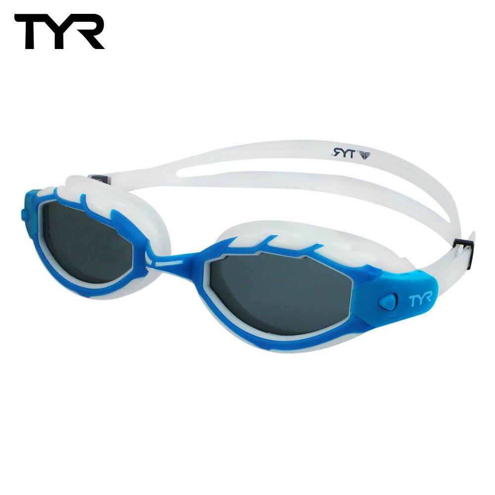 美國TYR 成人用偏光泳鏡 Tech Pro Polarized 台灣總代理-偏光防霧鏡片