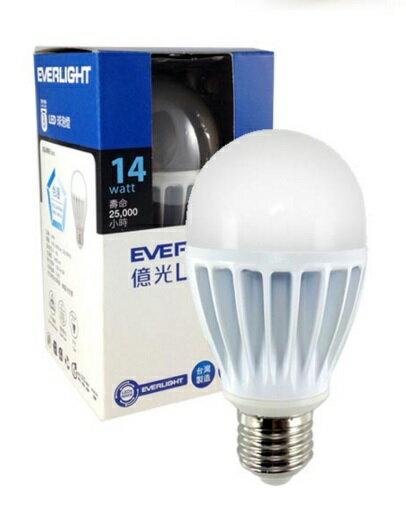 億光★台製 保固2年 14W LED球泡 全電壓 白光/黃光 另售飛利浦 奇異 歐司朗★永旭照明UE4-LED-SL-60A-14W-2.7K/5.7K