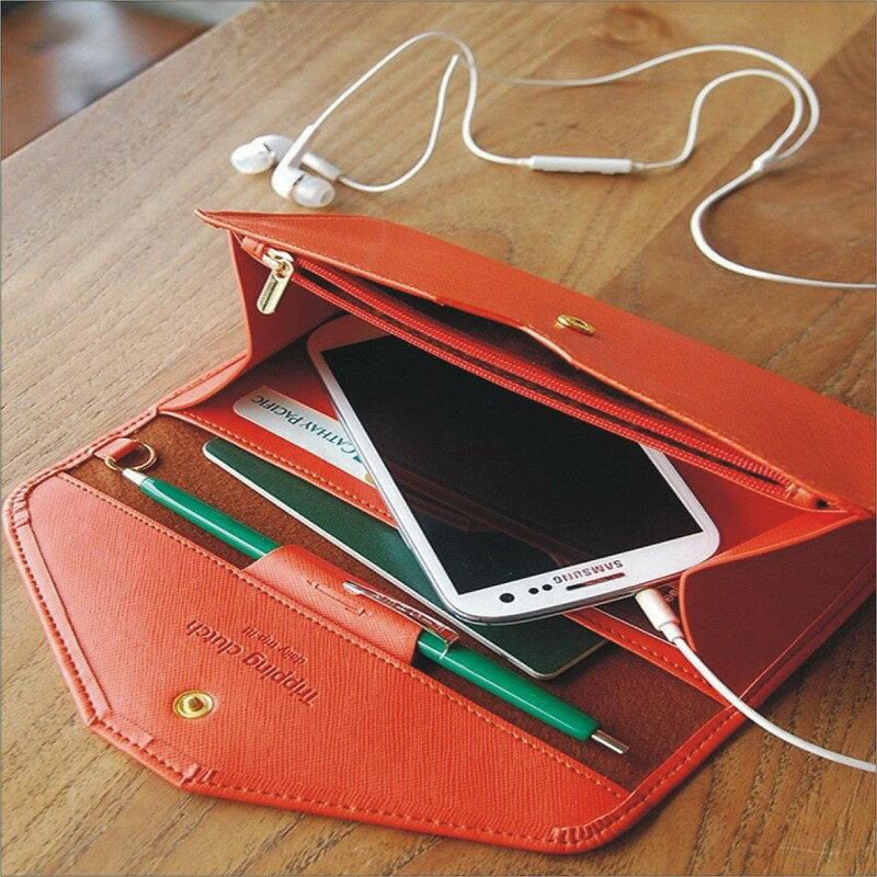 【限時特價】甜心小舖♥可放6吋手機包♥卡位 卡通鉚釘造型 皮夾 手機包 手拿包 長夾 短夾