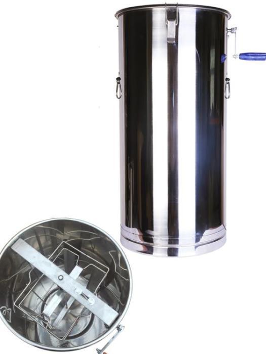 蜂璽搖蜜機304全不銹鋼加厚搖糖機蜂具蜂蜜小型家用搖蜂蜜機