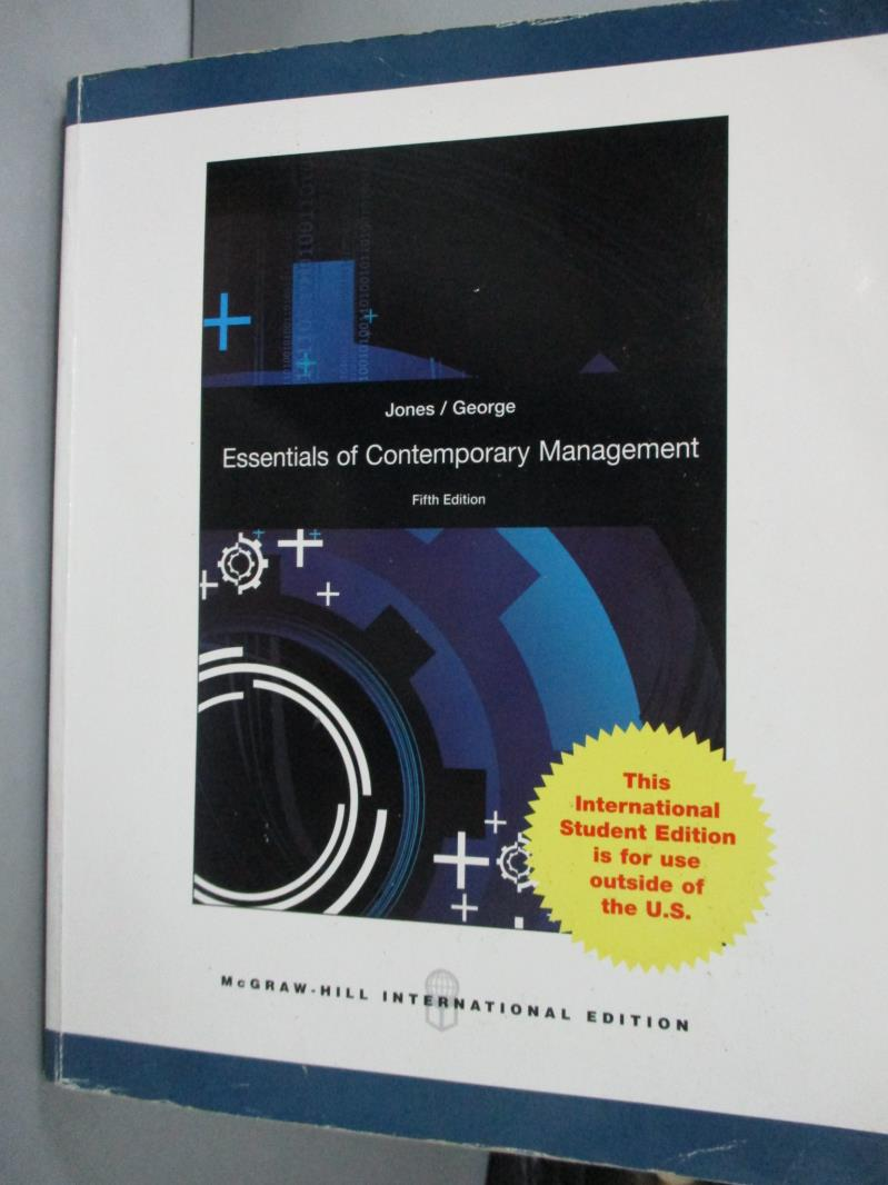 ~書寶 書T2/大學商學_YFC~Essentials of Contemporary M
