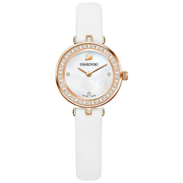 Swarovski施華洛世奇5376651AilaDressyMini時尚腕錶白25mm