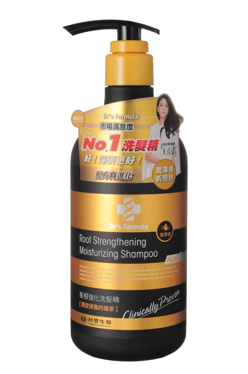 *優惠促銷*DrsFormula髮根強化洗髮精潤澤感《康是美》