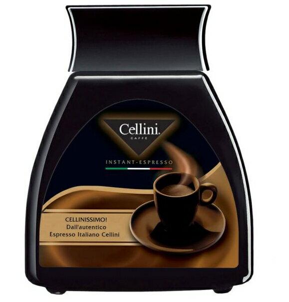 【雀義咖啡Cellini】義大利進口雀義咖啡~即溶咖啡粉瓶裝100g