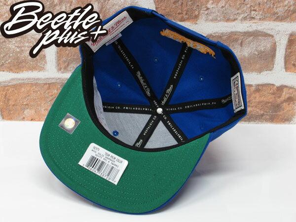 BEETLE NESS NBA WARRIORS 金州勇士 CURRY 藍黃 復古 SNAPBACK 棒球帽 總冠軍 MN-373 2