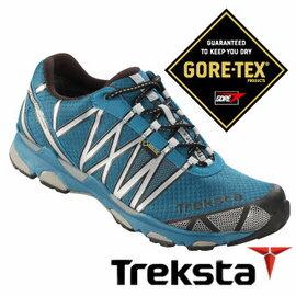 Treksta SYNC II 男GTX 防水慢跑鞋 灰藍 |戶外|健行鞋 KR16BMA