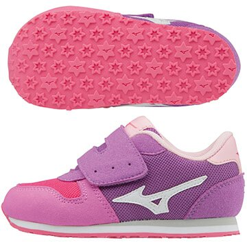 K1GD173202(紫粉紅X白)TINY RUNNER  5 幼兒鞋 A【美津濃MIZUNO】