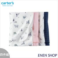 彌月寢具用品推薦到『Enen Shop』@Carters 女孩與狗狗款薄被四件組/包巾/浴巾 #45406 新生兒/彌月禮就在ENEN SHOP推薦彌月寢具用品