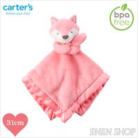 彌月玩具與玩偶推薦到『Enen Shop』@Carters 桃粉狐狸款baby安撫毛巾 #67210 新生兒/彌月禮就在ENEN SHOP推薦彌月玩具與玩偶