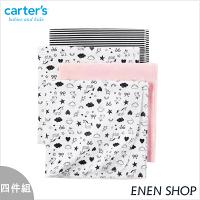 彌月寢具用品推薦到『Enen Shop』@Carters 獨角獸/愛心款薄被四件組/包巾/浴巾 #D06G299 新生兒/彌月禮就在ENEN SHOP推薦彌月寢具用品
