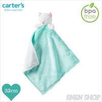 彌月玩具與玩偶推薦到『Enen Shop』@Carters 貓頭鷹款baby安撫毛巾 #L35720H 新生兒/彌月禮就在ENEN SHOP推薦彌月玩具與玩偶
