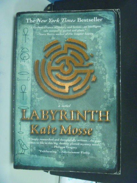 【書寶二手書T8/原文小說_MFF】Labyrinth_Mosse, Kate