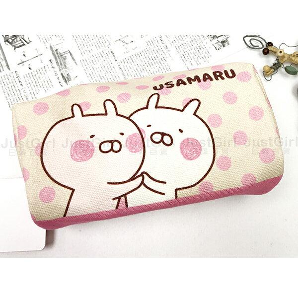 兔丸USAMAR鉛筆盒筆袋化妝包配件正版日本授權JustGirl