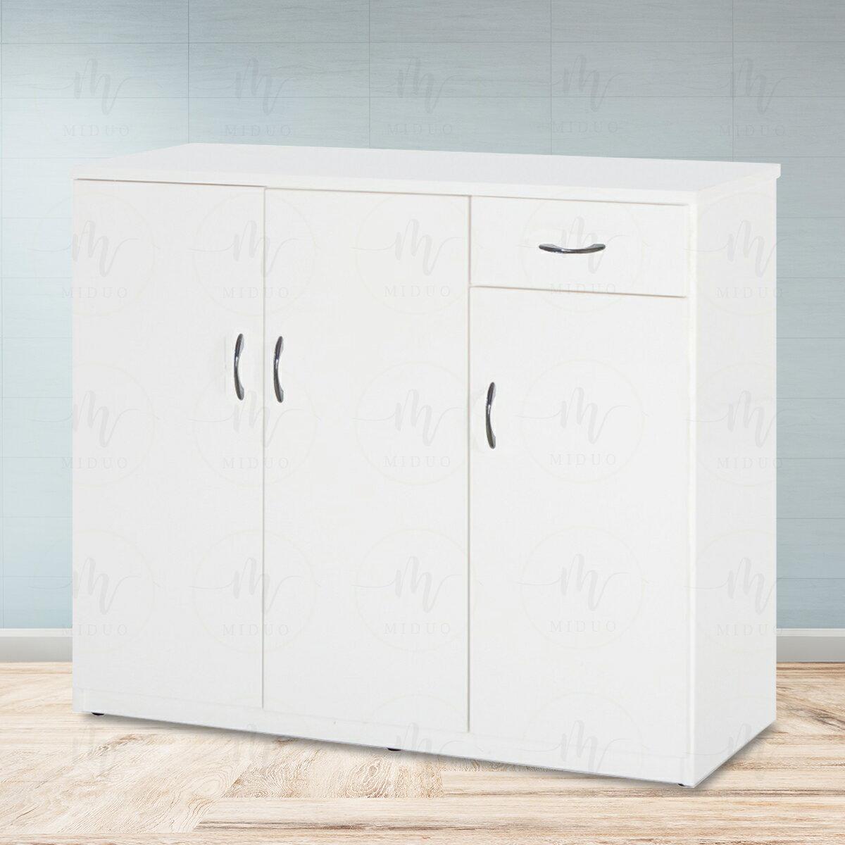 3.2尺三門一抽塑鋼鞋櫃 防水塑鋼家具【米朵Miduo】