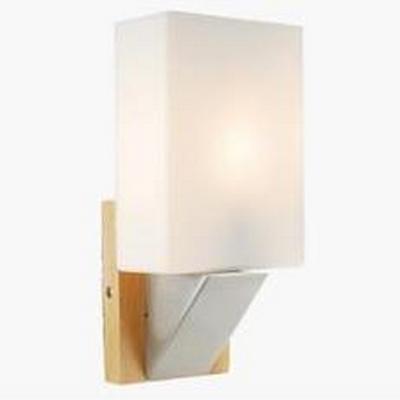 【威森家居】北歐 實木長方壁燈 現貨原木工業風現代簡約復古吸頂燈吊燈壁燈大廳客廳臥室陽台燈具LED設計師 L160539