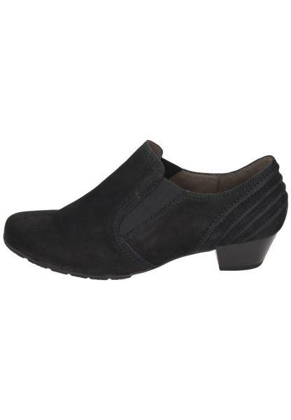 Gabor 歐美英倫時尚秋冬懷靴 黑  低粗跟│顯瘦│寬楦 0