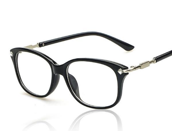 50%OFF SHOP【J004204Gls】新款鑲鑽復古原宿眼鏡框 附眼鏡盒 防紫外線 明星款 反光鏡面 - 限時優惠好康折扣