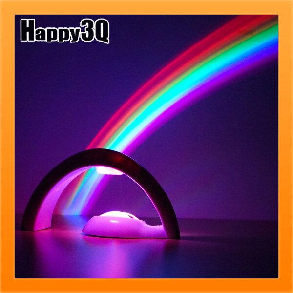 房間燈氣氛營造彩虹燈彩虹投射燈浪漫氣氛房間小夜燈IG拍照生日禮物送女友【AAA4081】