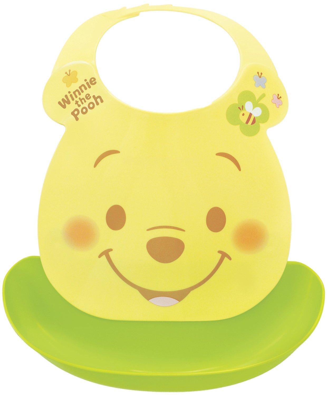 X射線~C316919~小熊維尼Winnie the Pooh尼兒童塑膠食事圍兜兜,BAB