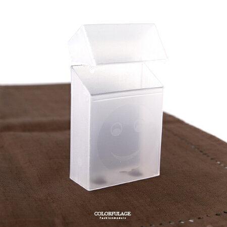 香菸盒 笑臉&鏤空米奇半透明煙盒套 潮流個性必備配件 輕巧單品好心情 柒彩年代【NL159】造型款