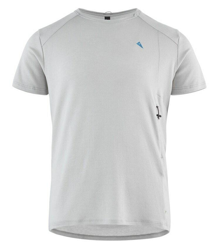 Klattermusen 攀山鼠 登山排汗衣/天絲+有 機棉 短袖T恤 Vee 男 KM20611M81 冰霜白 F