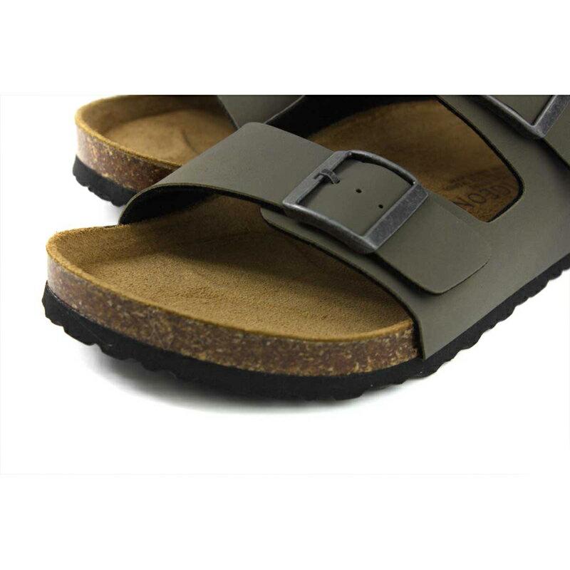 G.P 阿亮代言 拖鞋 勃肯鞋 墨綠色 男鞋 M371-60 no052 3