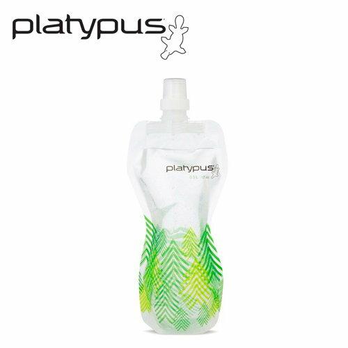 ├登山樂┤美國PlatypusSoftBottle軟式運動水瓶1L-森林#PLATY-06877