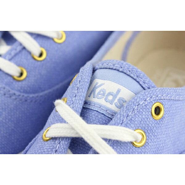 Keds CHAMPION CHALKY CANVAS 帆布鞋 粉藍 女鞋 9182W122460 no286 4