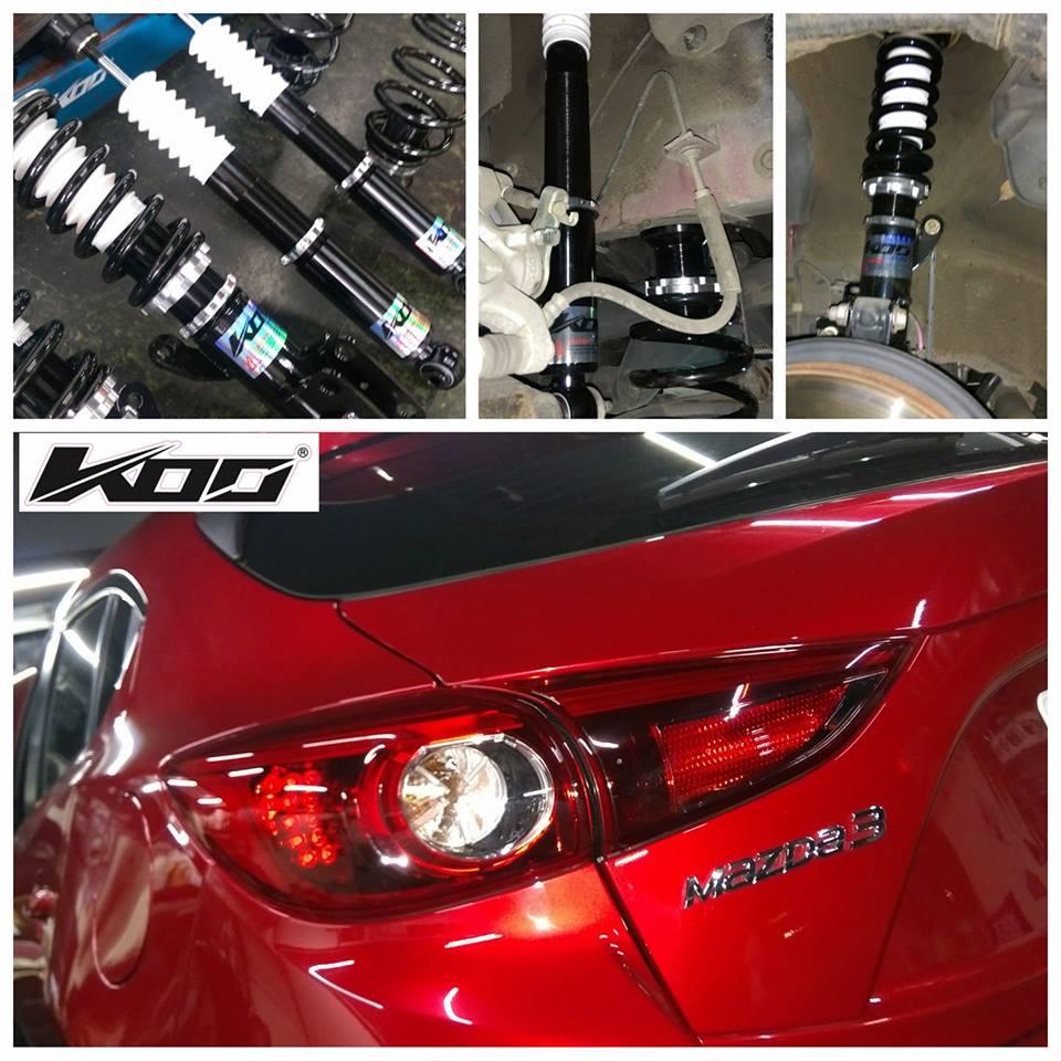 馬自達-3 Mazda-3 專用 KOO sport 高性能可調式避震器 (運動版)