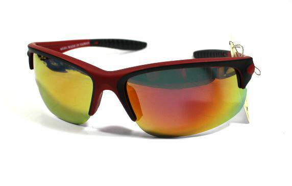 [陽光樂活]CYCLINGLINEUV400抗紫外線時尚潮流太陽眼鏡MIT台灣製造-A020203半框紅黑鏡架