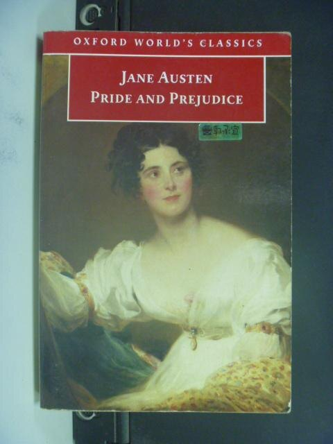 【書寶二手書T9/原文小說_NRP】Pride and Prejudice_Austen, Jane