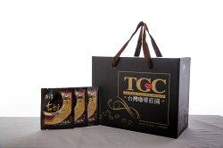 """【TGC】台灣古坑濾掛式咖啡 100包,下訂後即新鮮烘培,100%阿拉比卡種單品莊園咖啡豆,""""送5倍點數""""┬ 再送進口精美玻璃對杯一組~"""