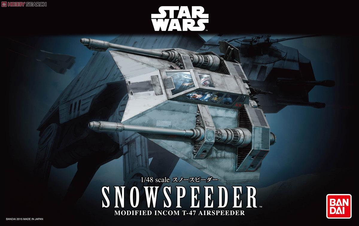 ☆勳寶玩具舖【鋼彈現貨】BANDAI 1/48 星際大戰 STAR WARS 雪地戰機 SNOW SPEEDER