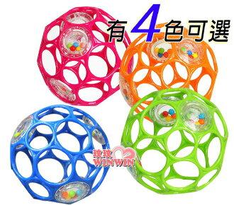 Kids-II - OBALL ( KI-81031 ) 4吋沙沙洞動球 ~ 吸引寶寶愛不釋手!