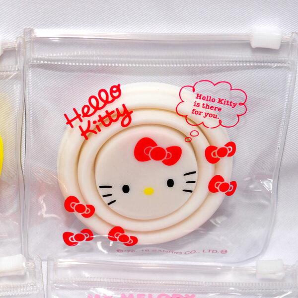 HelloKitty矽膠折疊水杯漱口杯旅行戶外休閒好幫手不佔空間日本帶回