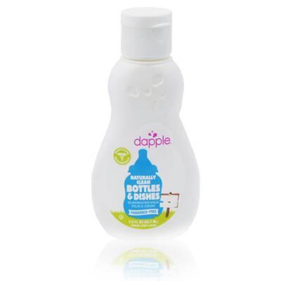 *babygo*美國 dapple 無香精奶瓶及餐具清潔液(90ml)-外出用