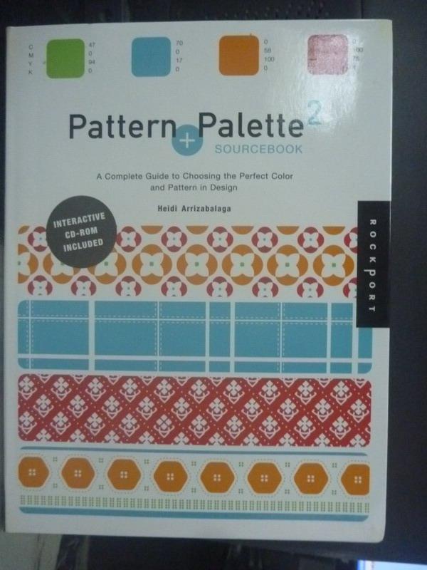 ~書寶 書T3/ _WEL~Pattern and Palette Sourcebook