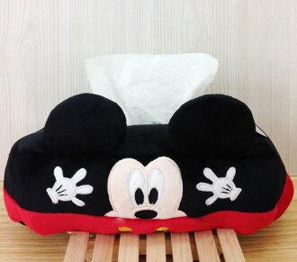 【真愛日本】16011400003造型鋪棉面紙套-MK  米奇米妮 迪士尼 面紙套 面紙盒 生活雜物 居家