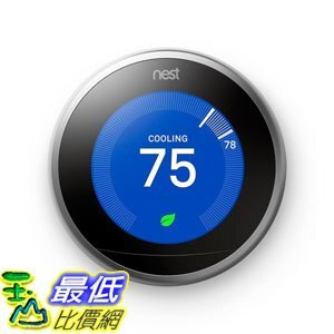 107美國直購  溫控器 Nest  T3007ES  Learning Thermos