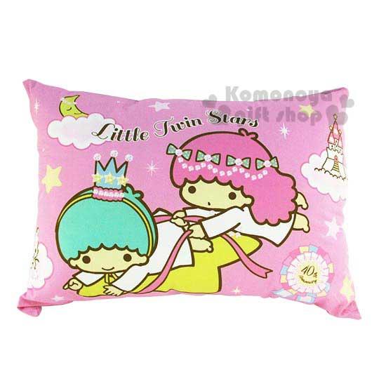 〔小禮堂〕雙子星 枕頭套《2入.粉》40週年雙星仙子系列