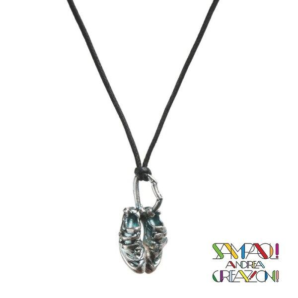 【SAC義大利】青銅項鍊吊飾-岩鞋義大利傳統飾品工藝/SAC020